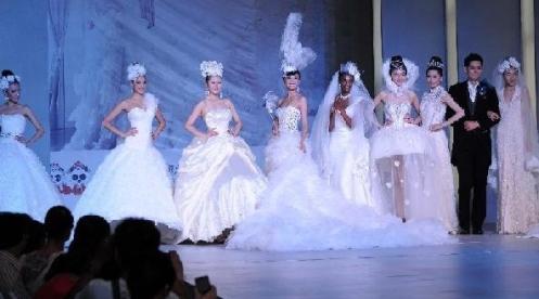 Always the Highlight of a Bridal Fair, The Fashion Show