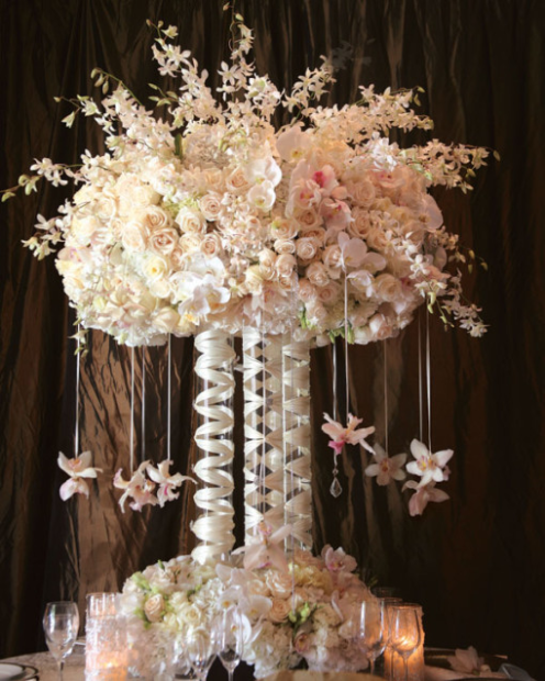 Fabulous Tall Centrepiece created by LA Premier