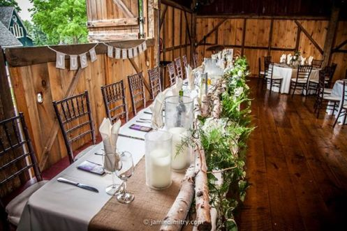 A Beautiful, rustic headtable.