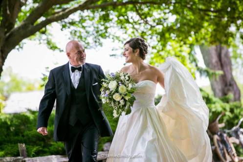 A Radiant Bride and her very Proud Dad