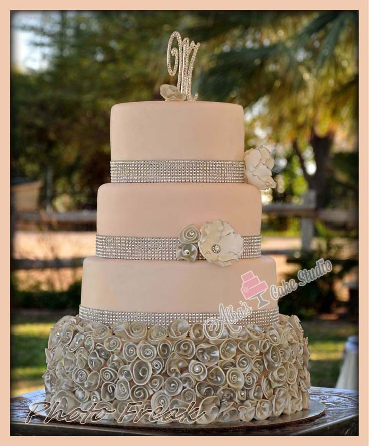 blush pink and grey wedding cakes what s on the horizon opulence floral design amp event decor 12043