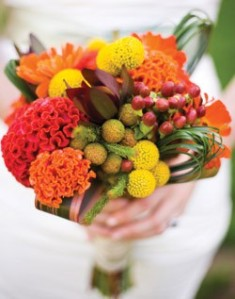Celosia Mixed Bouquet by J Majors.